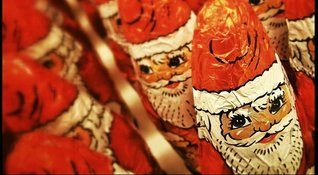 Santa Clause chocolates