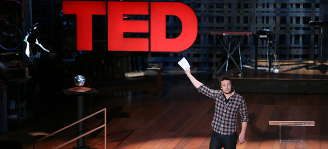 Jamie Oliver at Ted Talks -Public Speaking